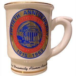 1965 SMU College Alumni 50th Anniversary Mug-RARE